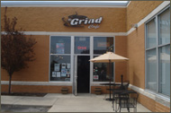 The Grind Cafe LLC. Storefront image